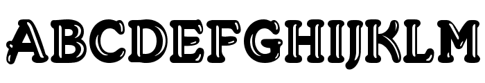 Merkin Goo Font UPPERCASE