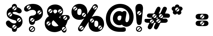 Merkin Skroo Font OTHER CHARS