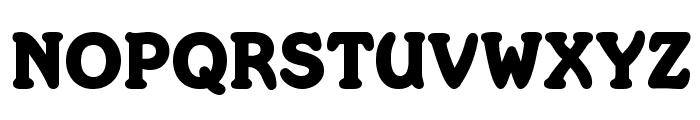 Merkin Font UPPERCASE