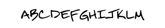 Merleretta Font LOWERCASE