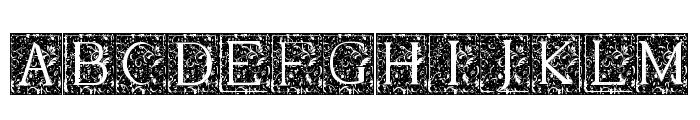 Merlot Font UPPERCASE