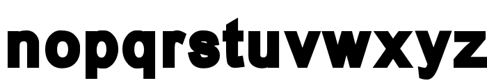 Mermaid Bloated Font LOWERCASE