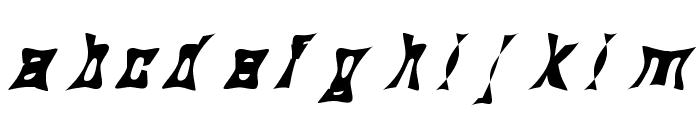 Mermaid Funky Font LOWERCASE