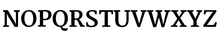 Merriweather Bold Font UPPERCASE