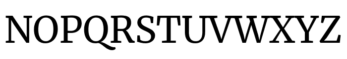 Merriweather Regular Font UPPERCASE