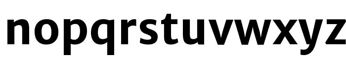 Merriweather Sans Bold Font LOWERCASE