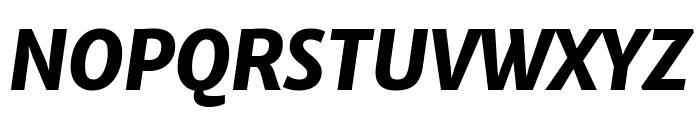 Merriweather Sans ExtraBold Italic Font UPPERCASE
