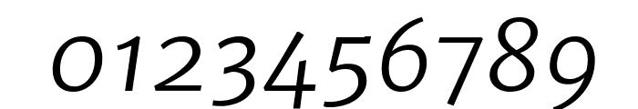 Merriweather Sans Light Italic Font OTHER CHARS
