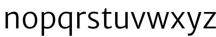 Merriweather Sans Light Font LOWERCASE