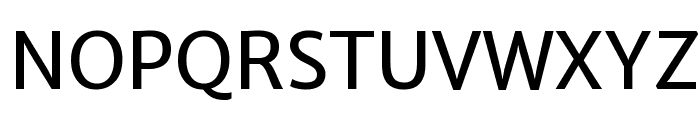 Merriweather Sans Regular Font UPPERCASE