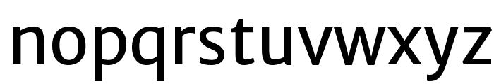 Merriweather Sans Regular Font LOWERCASE