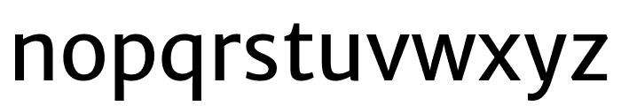 Merriweather Sans Font LOWERCASE