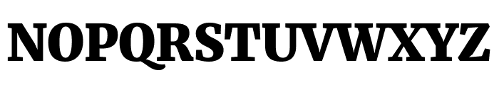 Merriweather UltraBold Font UPPERCASE