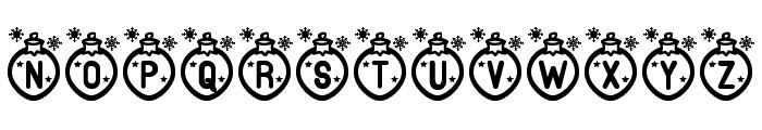Merry Xmas St Font UPPERCASE