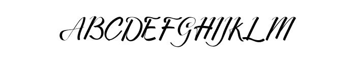 Merthy Font UPPERCASE