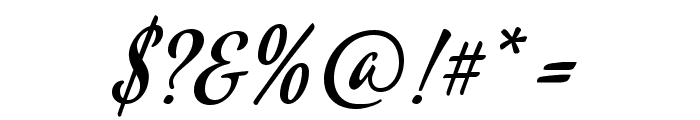 Mervale Script Font OTHER CHARS