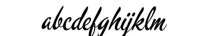 Mervale Script Font LOWERCASE