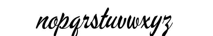 MervaleScript-Regular Font LOWERCASE