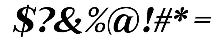 Merysha-Italic Font OTHER CHARS