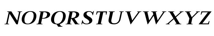 Merysha-Italic Font UPPERCASE