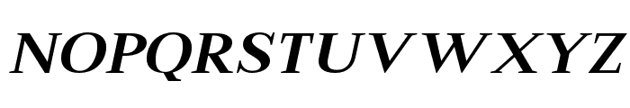 Merysha-Italic Font LOWERCASE
