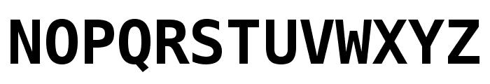 Meslo LG S DZ Bold Font UPPERCASE