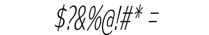 MesmerizeCdEl-Italic Font OTHER CHARS