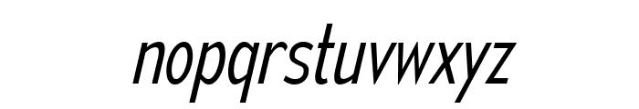 MesmerizeCdLt-Italic Font LOWERCASE