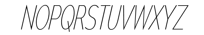 MesmerizeCdUl-Italic Font UPPERCASE