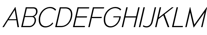MesmerizeEl-Italic Font UPPERCASE