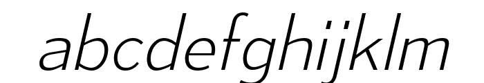 MesmerizeEl-Italic Font LOWERCASE