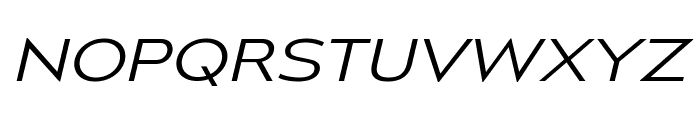 MesmerizeExLt-Italic Font UPPERCASE