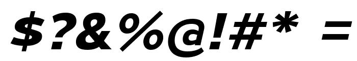 MesmerizeExRg-BoldItalic Font OTHER CHARS