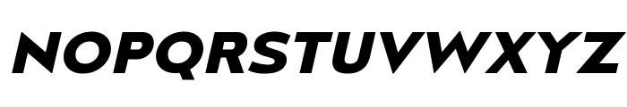 MesmerizeExRg-BoldItalic Font UPPERCASE