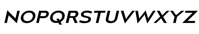 MesmerizeExRg-Italic Font UPPERCASE
