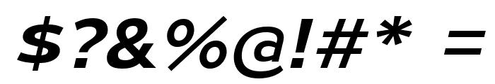 MesmerizeExSb-Italic Font OTHER CHARS