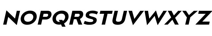 MesmerizeExSb-Italic Font UPPERCASE