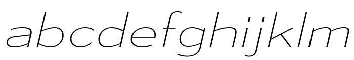MesmerizeExUl-Italic Font LOWERCASE