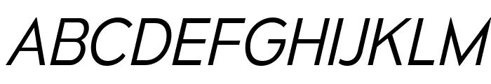 MesmerizeLt-Italic Font UPPERCASE