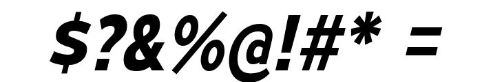 MesmerizeRg-BoldItalic Font OTHER CHARS