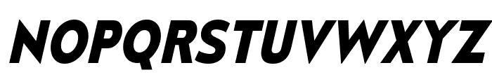 MesmerizeRg-BoldItalic Font UPPERCASE