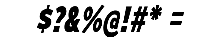 MesmerizeScEb-Italic Font OTHER CHARS