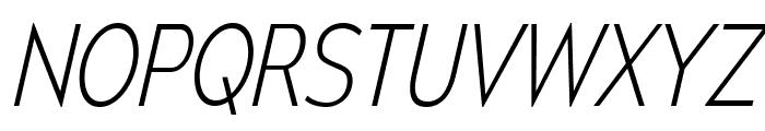 MesmerizeScEl-Italic Font UPPERCASE
