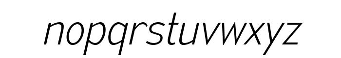 MesmerizeScEl-Italic Font LOWERCASE