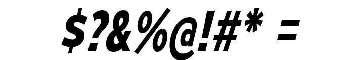 MesmerizeScRg-BoldItalic Font OTHER CHARS