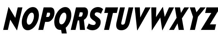 MesmerizeScRg-BoldItalic Font UPPERCASE