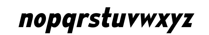 MesmerizeScRg-BoldItalic Font LOWERCASE