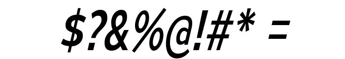 MesmerizeScRg-Italic Font OTHER CHARS