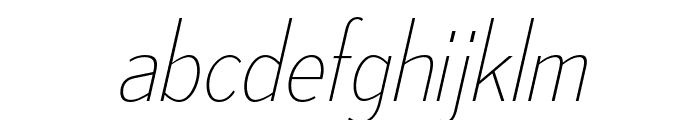 MesmerizeScUl-Italic Font LOWERCASE