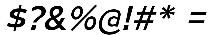 MesmerizeSeRg-Italic Font OTHER CHARS